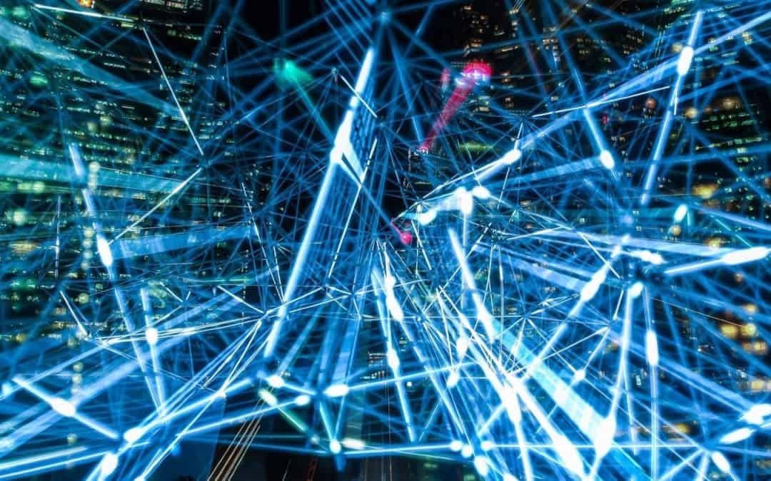 Illustration av information - digitalisering